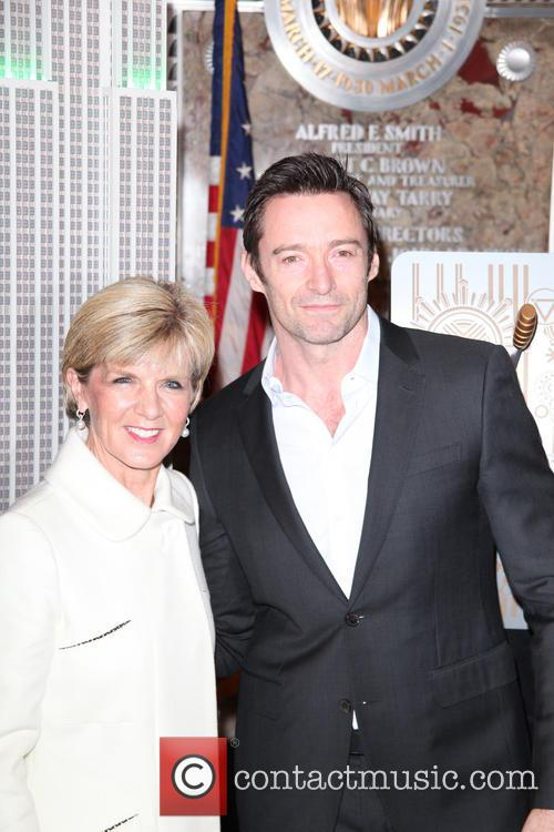 Hugh Jackman and Julie Bishop 8