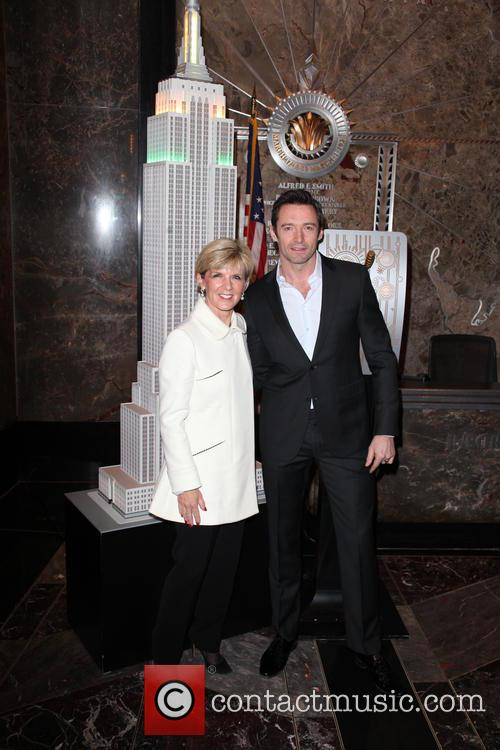 Hugh Jackman and Julie Bishop 9