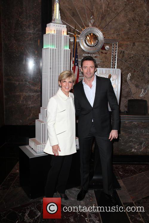 Hugh Jackman and Julie Bishop 10