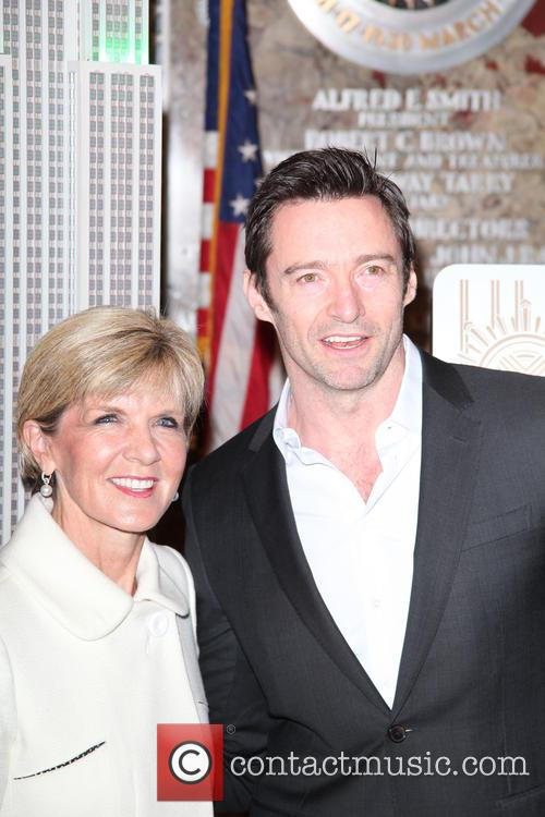 Hugh Jackman and Julie Bishop 11