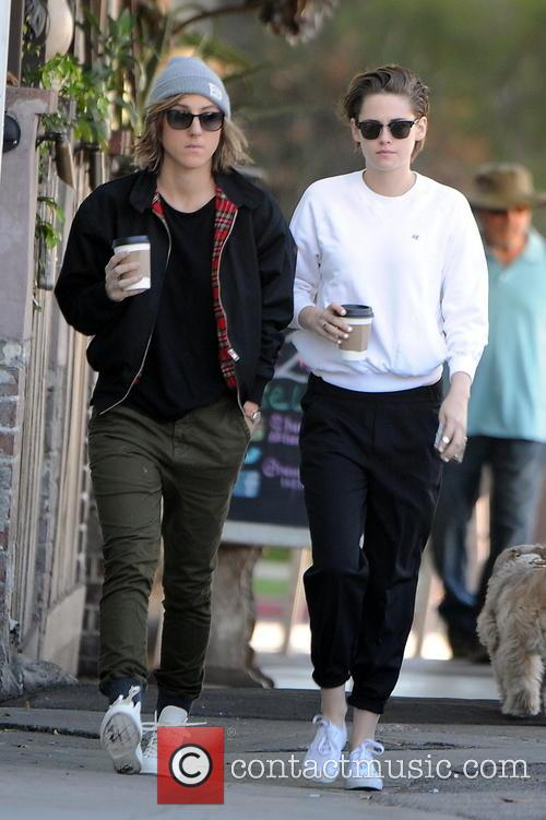 Kristen Stewart and Alice Cargile 2