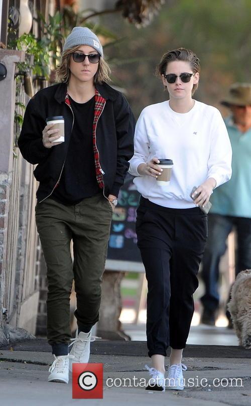 Kristen Stewart and Alice Cargile 3