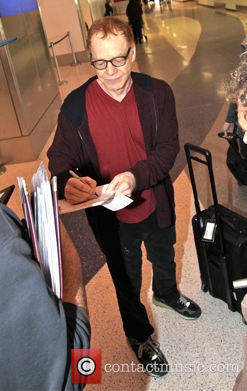 Danny Elfman arrives at LAX airport