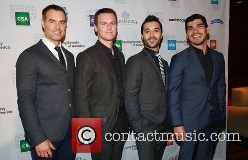 Murray Bartlett, Jonathan Groff, Frankie J. Alvarez and Raul Castillo