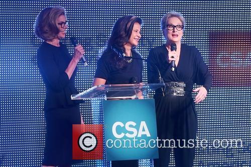 Christine Baranski, Tracey Ullman and Meryl Streep 1