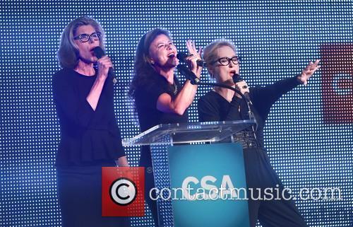 Christine Baranski, Tracey Ullman and Meryl Streep 7