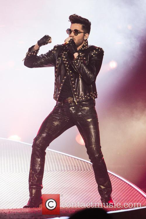 British rock legends Queen and Adam Lambert perform at the Barclaycard Arena as part of their 2015 European tour.