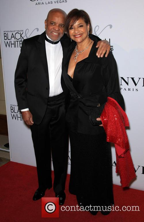Berry Gordy and Debbie Allen 3