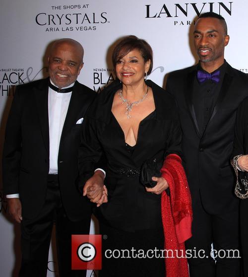 Berry Gordy, Debbie Allen and Norman Nixon 2