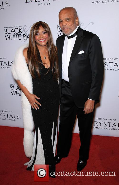 Sherry Gordy and Berry Gordy 1