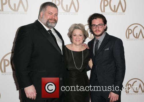 Dean Deblois, Bonnie Arnold and Kit Harrington 1