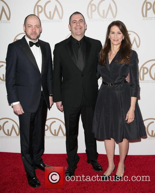 Gareth Neame, Nigel Marchant and Deborah Oppenheimer 2