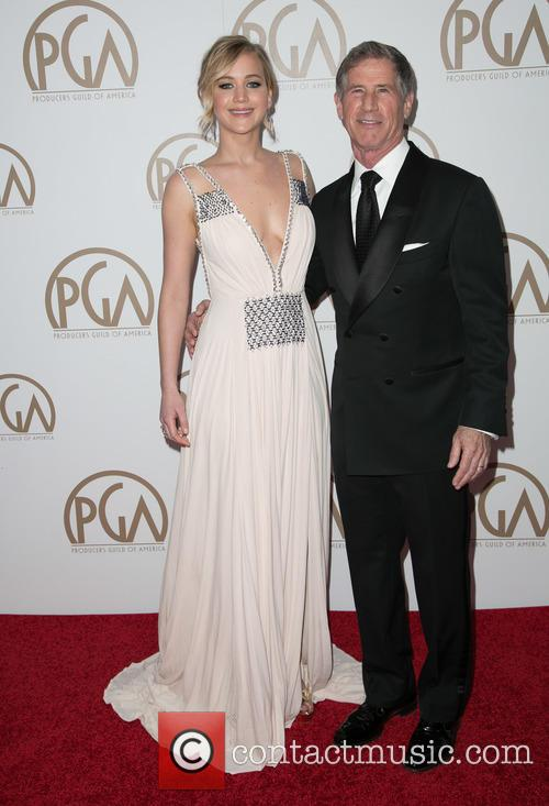 Jennifer Lawrence and Jon Feltheimer 2