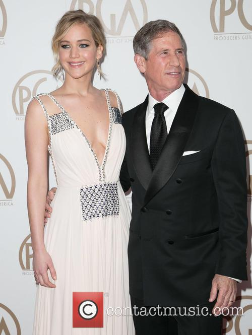 Jennifer Lawrence and Jon Feltheimer 4