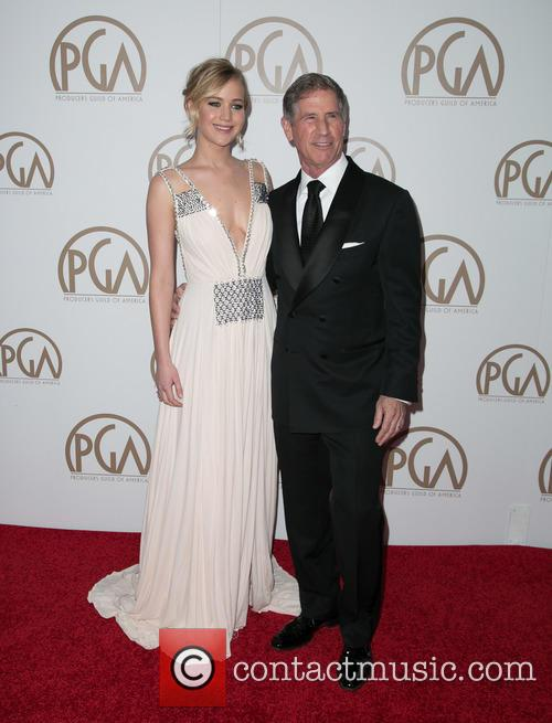 Jennifer Lawrence and Jon Feltheimer 8