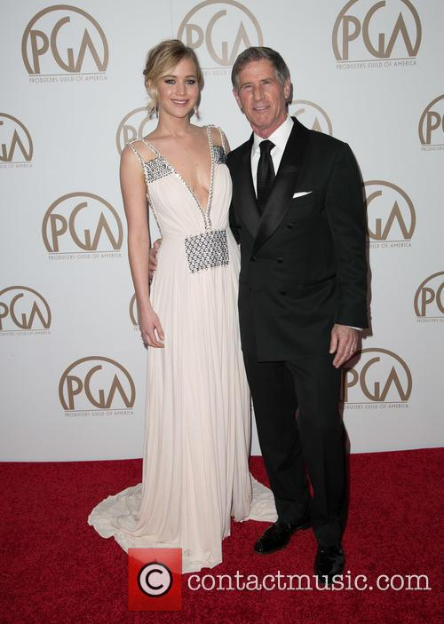 Jennifer Lawrence and Jon Feltheimer 10