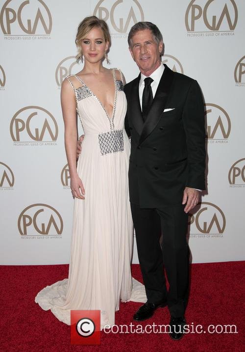 Jennifer Lawrence and Jon Feltheimer 11