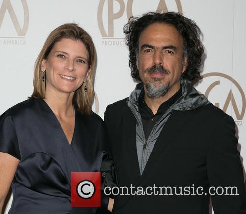 Maria Eladia Hagerman and Alejandro Gonzalez Inarritu 3