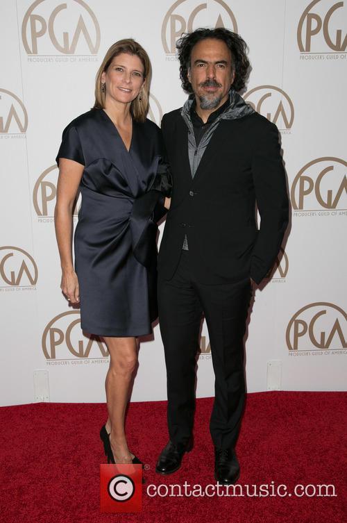 Maria Eladia Hagerman and Alejandro Gonzalez Inarritu 1