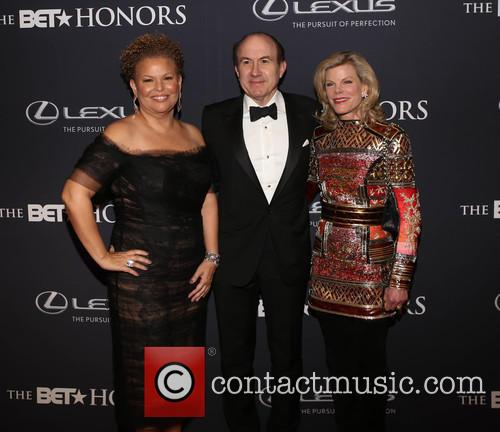 Debra Lee, Philippe   Dauman and Deborah Dauman 1