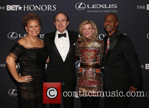 Debra Lee, Philippe   Dauman, Deborah Dauman and Stephen Hill 3