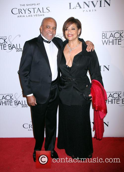 Berry Gordy and Debbie Allen 2