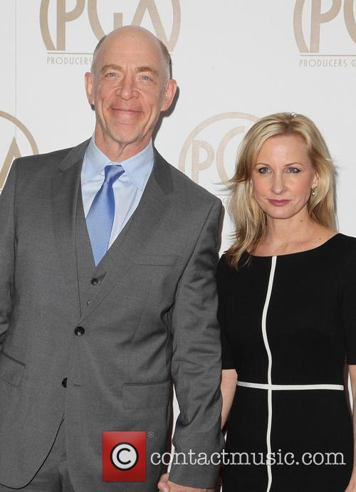 J.k Simmons and Michelle Schumacher 1