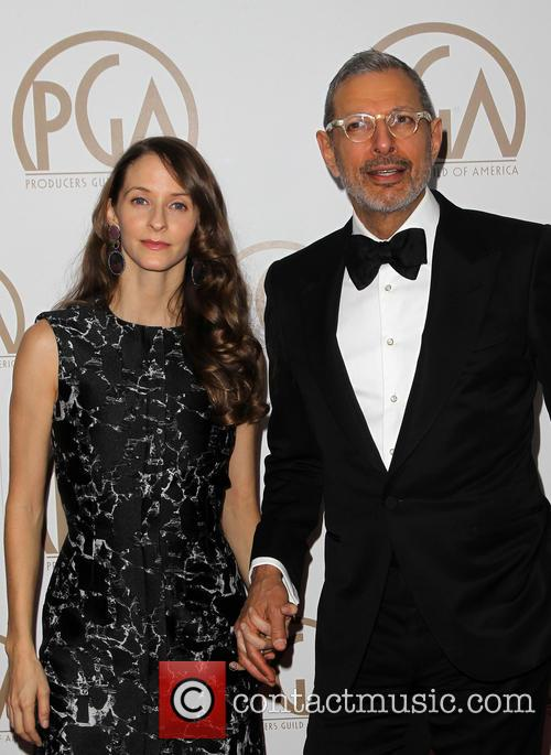 Jeff Goldblum and Emilie Livingston 1