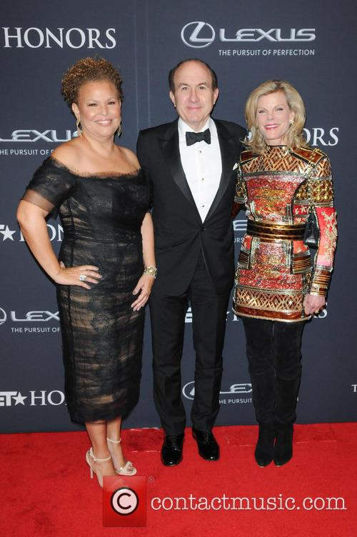 Debra Lee, Philippe Dauman and Deborah Dauman 2