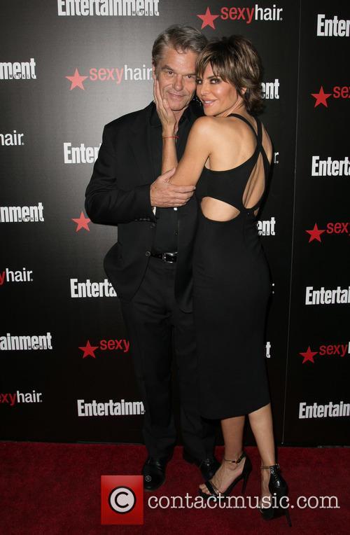 Harry Hamlin and Lisa Rinna 2