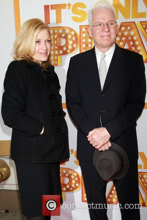 Diane Sawyer and Steve Martin 3