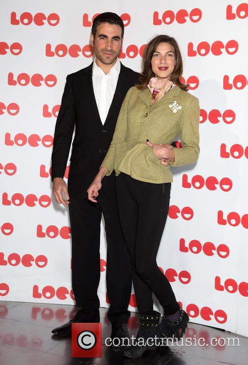 Brett Goldstein and Natalia Tena