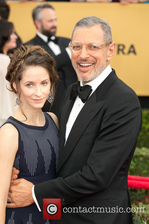 Emilie Livingston and Jeff Goldblum 8