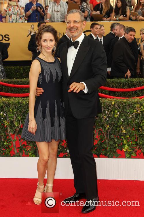Emilie Livingston and Jeff Goldblum 9