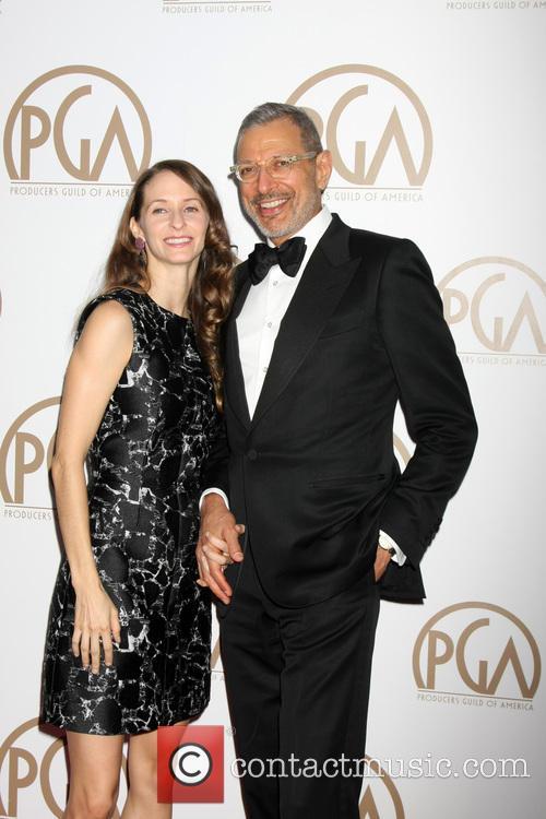 Emilie Livingston and Jeff Goldblum 7