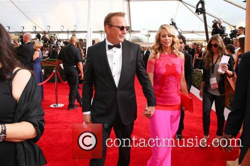 Kevin Costner and Christine Baumgartner 2