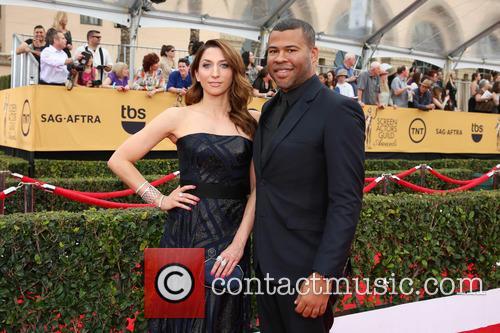 Jordan Peele and Chelsea Peretti 1