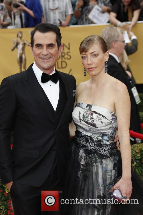 Ty Burrell and Holly Burrell 5