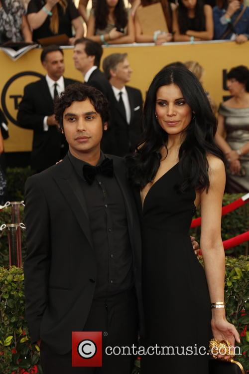 Kunal Nayyar and Neha Kapur 1