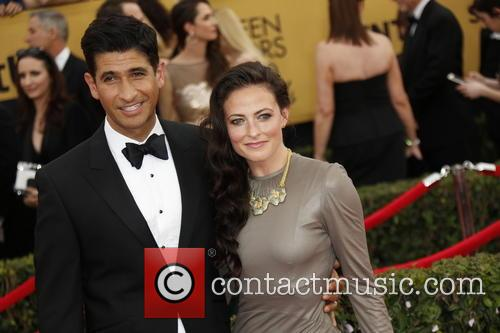 Lara Pulver (r) and Raza Jaffrey 2