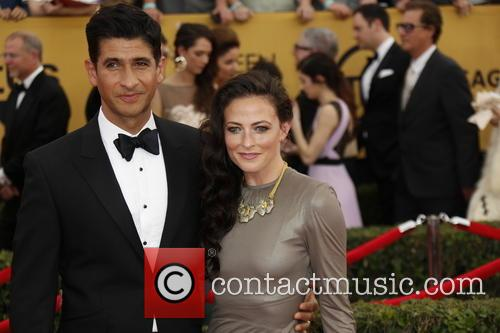 Lara Pulver (r) and Raza Jaffrey 3