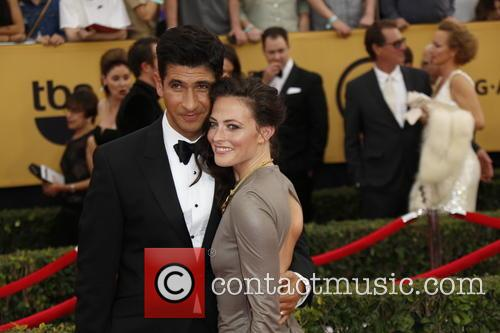 Lara Pulver (r) and Raza Jaffrey 1