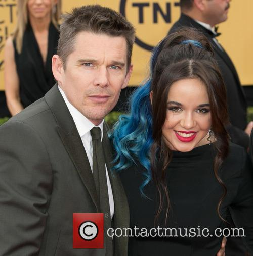 Ethan Hawke and Lorelei Linklater 8