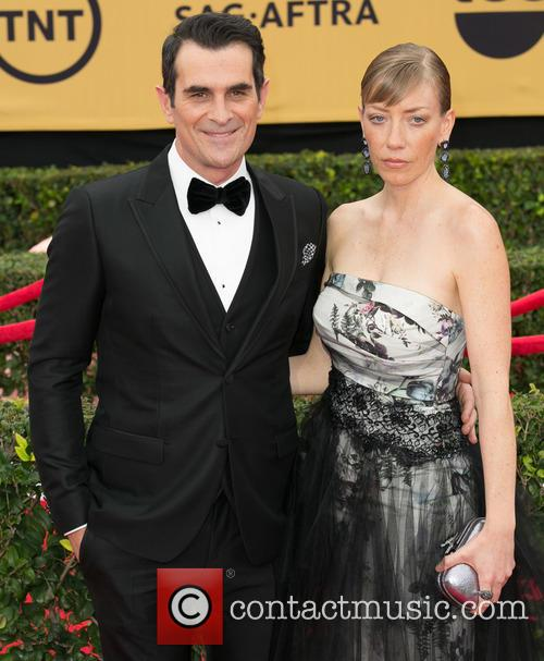 Ty Burrell and Holly Burrell 7