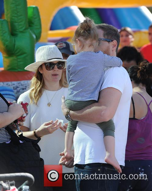Drew Barrymore, Will Kopelman and Olive Kopelman 5