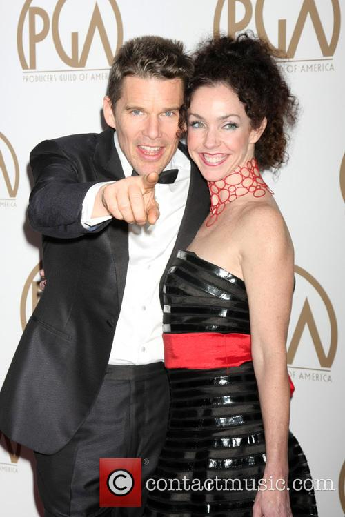 Ethan Hawke and Sister 1