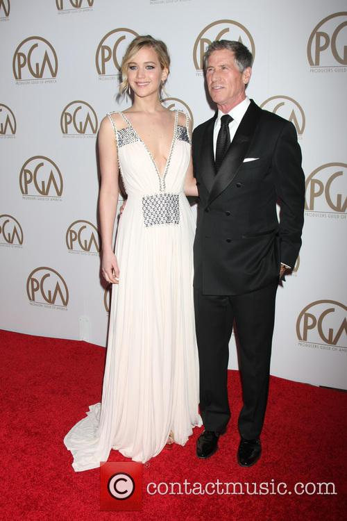 Jennifer Lawrence and Jon Feltheimer 7