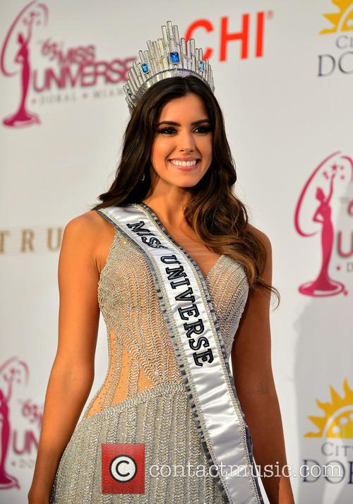 Miss Colombia and Paulina Vega 4