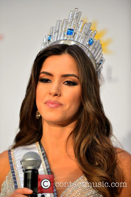 Miss Colombia and Paulina Vega 8