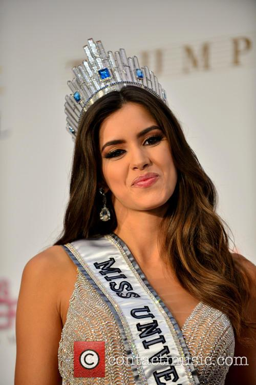 Miss Colombia and Paulina Vega 9